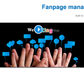 """Tài liệu tiếng việt """" Cách quản lý fanpage Zing Me"""""""