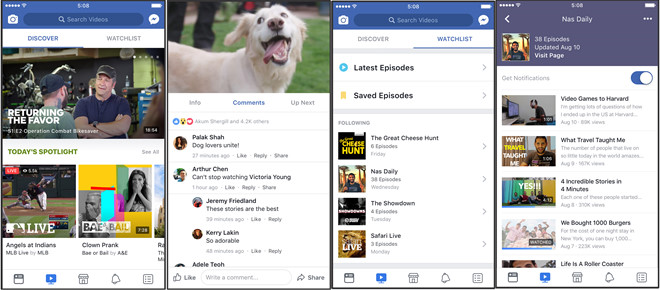 Facebook Watch: Ra doi de lat do YouTube hinh anh 1