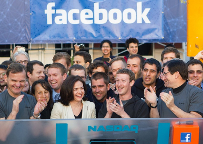 Sau nhiều năm tăng trưởng phi mã, ngày 18/5/2012, Facebook thực hiện IPO và huy động được 5 tỷ USD.<br>