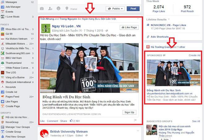 Facebook sẽ có những giải pháp mới nhằm nâng cao hơn tính năng quảng cáo của mình.