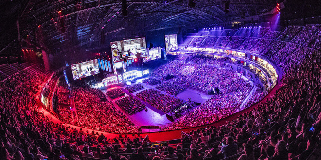 ESL One Cologne 2017 tổ chức tại Lanxess Arena.