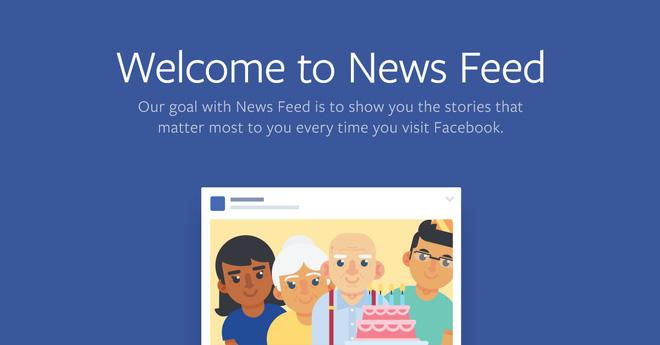 News Feed của Facebook thay đổi lớn: Ưu tiên status của bạn bè, ít hiển thị fanpage và quảng cáo - Ảnh 1.