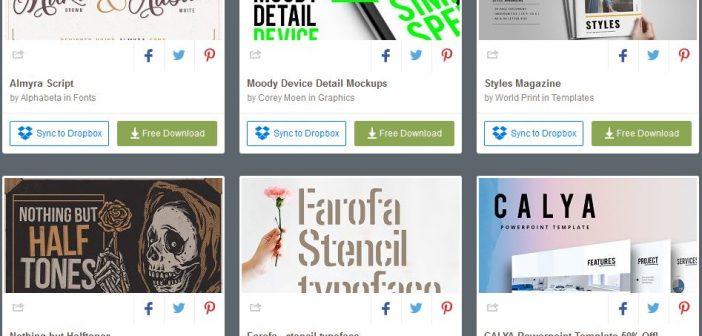 [Tài nguyên đồ họa] 6 bộ tài nguyên đồ họa được miễn phí từ Creative Market ( tuần 2 tháng 2 /2018 )