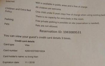 Booking.com thừa nhận chuyển toàn bộ thông tin thẻ tín dụng cho khách sạn - Ảnh 1.