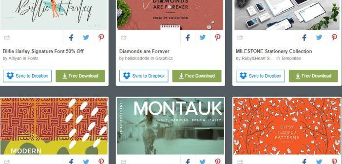 [Tài nguyên đồ họa] 6 bộ tài nguyên đồ họa được miễn phí từ Creative Market ( Tuần 3 tháng 4 / 2018 )