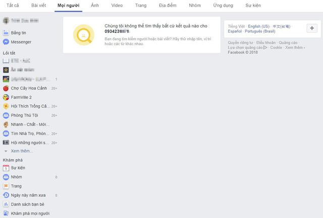 Facebook chặn tính năng tìm kiếm người dùng bằng số điện thoại và email vì bê bối bảo mật - Ảnh 1.