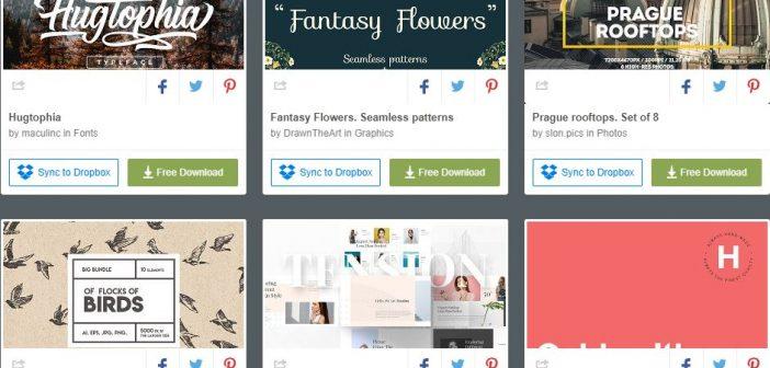 [Tài nguyên đồ họa] 6 bộ tài nguyên đồ họa được miễn phí từ Creative Market ( Tuần 3 tháng 6 / 2018 )