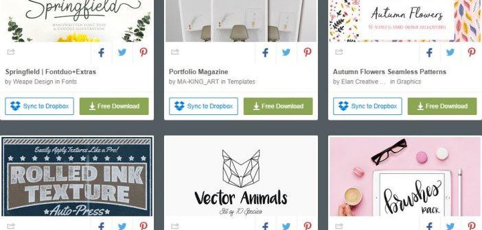 [Tài nguyên đồ họa] 6 bộ tài nguyên đồ họa được miễn phí từ Creative Market ( Tuần 3 tháng 9 / 2018 )
