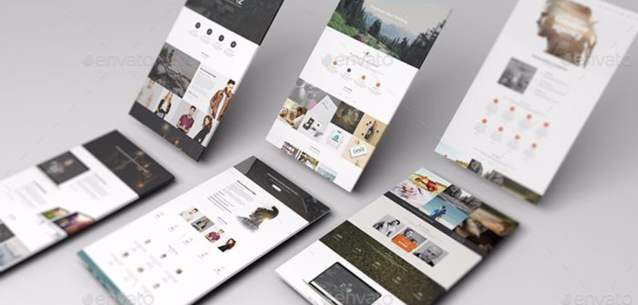 Tổng hợp 9 bộ thiết kế Website Mockup cực đẹp từ Digimarkvn.com