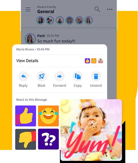 Yahoo tái xuất thị trường ứng dụng nhắn tin với Yahoo Together - Ảnh 2.