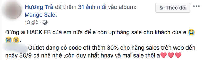 Cảnh báo khẩn cấp: Liên tiếp Facebook của nhiều người nổi tiếng bị hack sau 1 đêm, phải bỏ hàng chục triệu đồng để chuộc lại - Ảnh 6.