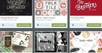 [Tài nguyên đồ họa] 6 bộ tài nguyên đồ họa được miễn phí từ Creative Market (Tuần 4 tháng 1/ 2019 )
