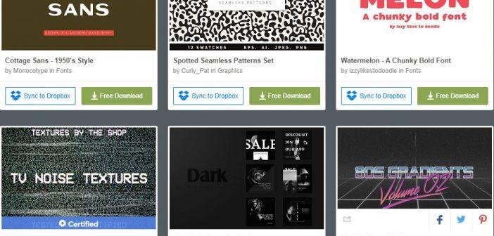 [Tài nguyên đồ họa] 6 bộ tài nguyên đồ họa được miễn phí từ Creative Market (Tuần 2 tháng 2 / 2019 )