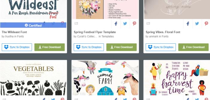 [Tài nguyên đồ họa] 6 bộ tài nguyên đồ họa được miễn phí từ Creative Market (Tuần 3 tháng 4 / 2019 )