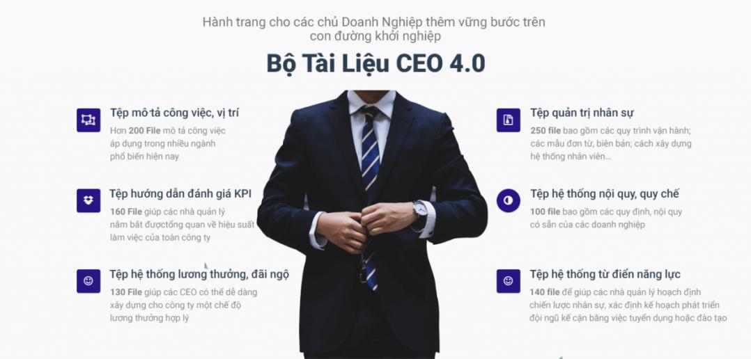 Kết quả hình ảnh cho bộ Tài liệu CEO 4.0 2019