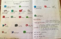 Nể phục cách ông bà học dùng Facebook thời 4.0: Lấy sổ ghi chép tỉ mẩn không sót chữ nào vì... sợ quên - Ảnh 1.