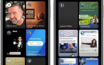 Facebook Messenger có thiết kế mới tối giản hơn, Dark Mode và Stories nổi bật  - Ảnh 1.