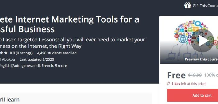 Link Google Drive Khóa học Complete Internet Marketing Tools for a Successful Business