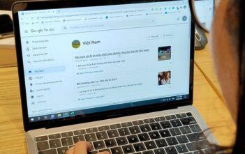 Trang tin Google News (bản máy tính) tại Việt Nam dẫn lại nhiều nguồn tin bài từ báo chí. Ảnh: Thế Lâm.