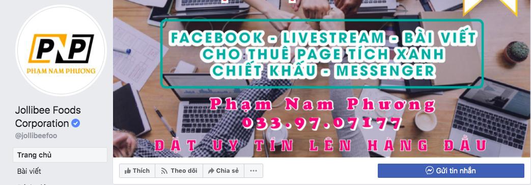 Đến lượt fanpage của công ty sở hữu gà rán Jollibee bị hacker Việt tấn công, phát livestream bán hàng hàng loạt - Ảnh 2.
