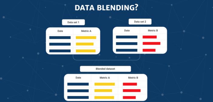 Video hướng dẫn DATA BLENDING & Reference Line (đường tham chiếu) trong Google Data studio
