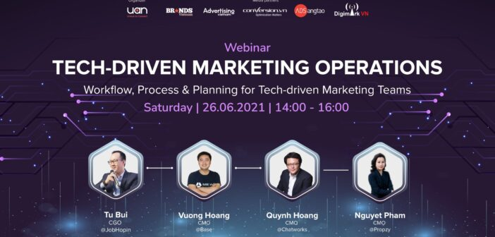 [WEBINAR] Tech-Driven Marketing Operations: Workflow, Process & Planning for Tech-driven Marketing Teams