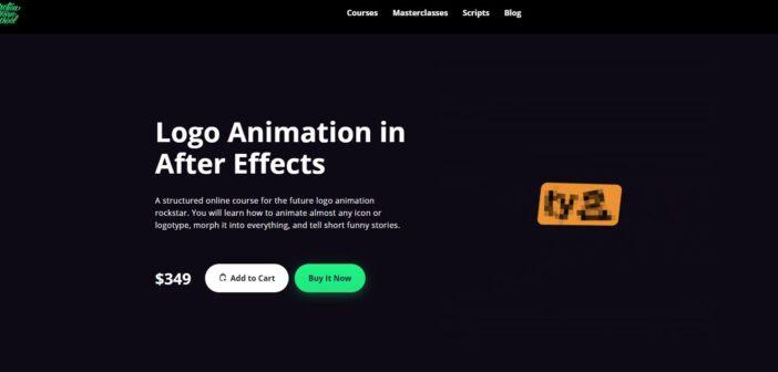 Khóa học Tiếng Anh về cách làm Logo bằng After Effect – Motion Design School- Logo Animation in After Effects